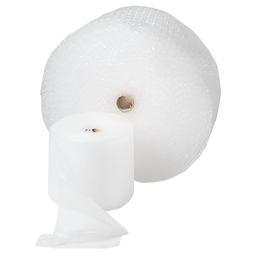 Bubbelfolie AirCap 0,5x75 m 10 mm perforerad