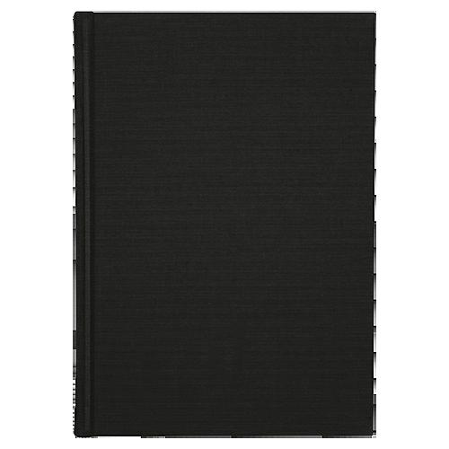 Anteckningsbok Burde A4 linjerad svart