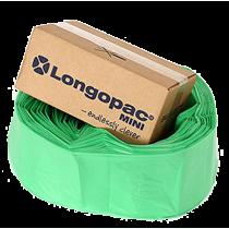 Sopsäcksslang Longopac Mini grön
