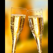 Champagneglas 10 cl 10/fp
