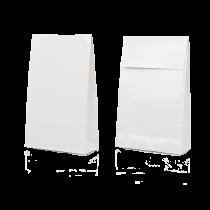 Presentpåsar 100x42x157 mm vit 100/fp