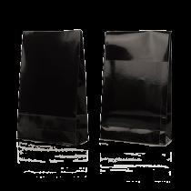 Presentpåsar 140x55x230 mm svart 100/fp