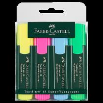 Överstrykningspenna Faber-Castell 1548 4-set