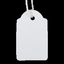 Etikett med snöre 22x35 mm 500/fp