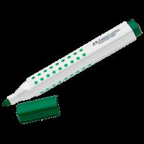 Whiteboardpenna Faber-Castell 3 mm grön