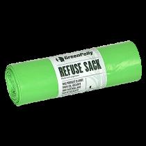 Sopsäckar GreenPolly grön 160L 10/rl