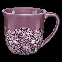 Kaffemugg Cult Orient 3 dl plommon