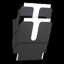 Blankettfack FlexiPlus A4S svart 2/fp