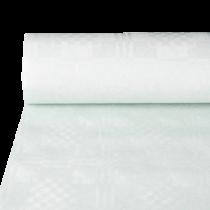 Bordsduk Papstar Damast vit 50x1,2 m