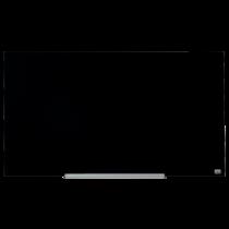 Glastavla Nobo Glas 45 tum 1000x560 mm svart