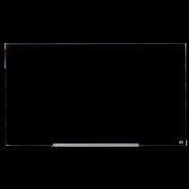 Glastavla Nobo Glas 57 tum 1260x710 mm svart