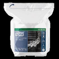 Refill våtdukar för handrengöring Tork