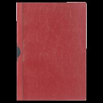 Klämmapp A4 Durable Euroclip röd