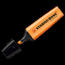 Överstrykningspenna Stabilo Boss orange