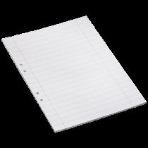 Arbetsblad A4 linjerat 14,5 mm 500/fp