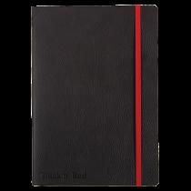 Anteckningsbok Oxford Black n' Red Soft A5