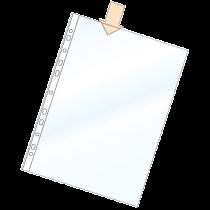 Plastficka Bantex A4 0,06 mm 100/fp