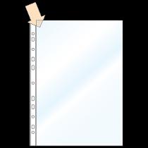 Plastficka Bantex A4 0,12 mm 100/fp
