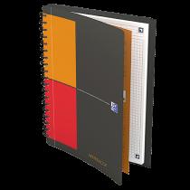 Anteckningsbok Oxford MeetingBook B5 rutat