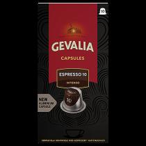 Kaffekapslar Gevalia Espresso 10 Intenso 10/fp
