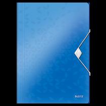 Snoddmapp Leitz Wow blå