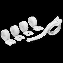 Kardborrband Cavoline Grip Tie vit 5/fp