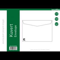Kuvert FH C5 bruna 100/fp
