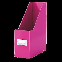 Tidskriftssamlare Click & Store rosa