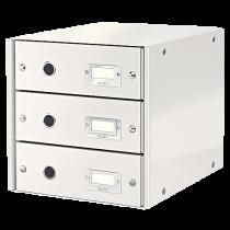 Förvaringsbox Click & Store vit