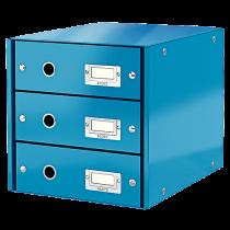 Förvaringsbox Click & Store blå