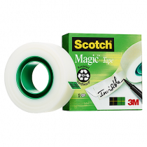 Dokumenttejp Scotch Magic 66mx19mm
