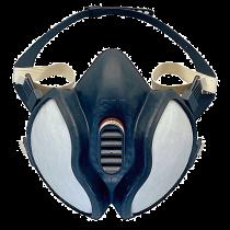 Andningsskydd halvmask med fast filter
