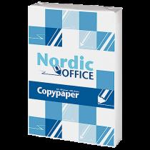 Kopieringspapper Nordic Office A4 ohål 500/fp