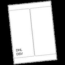 Fraktetikett Laseretikett DHL/DSV 200/fp