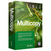 Kopieringspapper Multicopy A4H (EU-hål) 80 g 500/fp