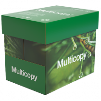 Kopieringspapper Multicopy Xpressbox A4 hål 80 g 2500/fp