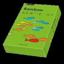 Färgat papper Rainbow A4 120 g intensivgrön 250/fp