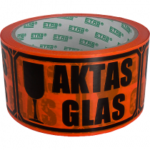 Varningstejp Aktas glas
