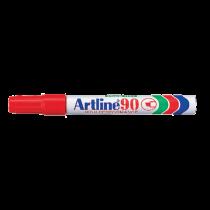 Märkpenna Artline 90 röd