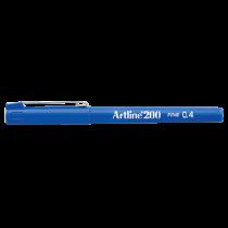 Fiberpenna Fineliner Artline 200 blå