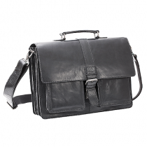 Portfölj Baoobaoo Briefcase 15 tum svart