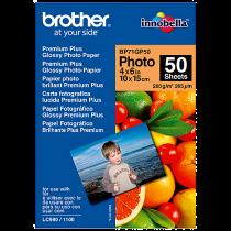 Fotopapper Brother glättat 10x15 cm 50/fp