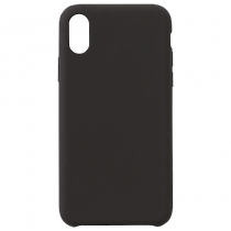 Mobilskal eStuff svart silikon iPhone X/XS