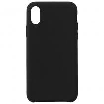 Mobilskal eStuff svart silikon iPhone XR