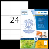Etiketter Herma Recycled 70x36 mm 2400/fp