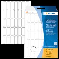 Märketiketter Herma 12x30 mm 1120/fp