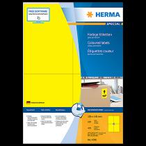 Etiketter Herma Special 105x148 mm gul 400/fp