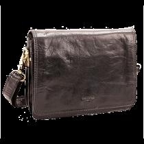 Damväska BaooBaoo Flap Handbag svart