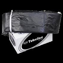 Sopsäcksslang TubeSac Den lille 55 m svart