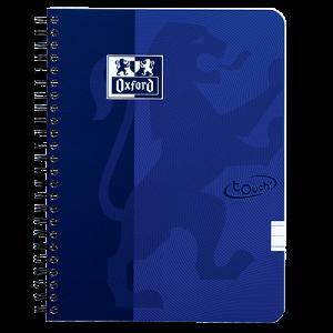 Anteckningsbok Oxford Touch A5 linjerat blå
